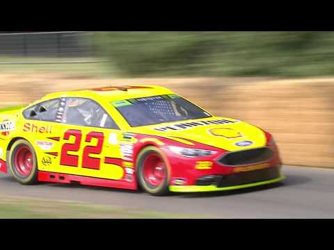 Ford NASCAR - Billy Johnson at Goodwood Festival of Speed 2019