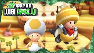 New Super Luigi U Deluxe ᴴᴰ   World 2 (All Star Coins) Solo Toad