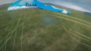 Lot Motoparalotnią – Kielce video