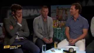 MAGIC MIKE: Cast Talks Uncensored Stripping Conventions (Cinemax)