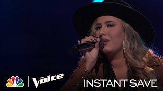 "Bailey Rae's Wildcard Instant Save Performance: Lee Ann Womack ""Never Again, Again"" - Voice Results"
