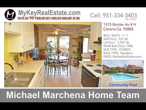 Condo For Sale - 1515 Border Av # H, Corona 92882 - Michael Marchena Home Team