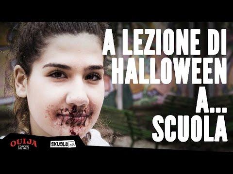 A lezione di Halloween a...scuola
