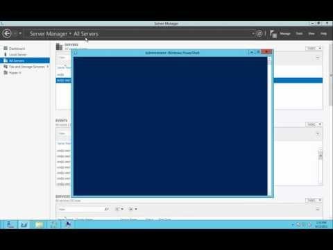 Установка Hyper-V в Windows Server 2012