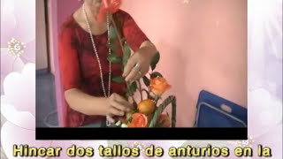 CENOCUP - 12. DISEÑO FLORAL DE FLORES Y FRUTAS