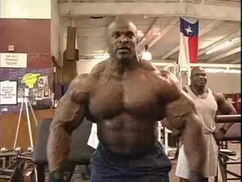 ronnie coleman flexing 2003 youtube