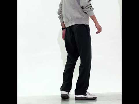 CPMAX 抽繩休閒寬鬆長褲 直筒修身九分褲 百搭寬腿運動褲 大尺碼寬褲 寬褲 運動褲 長褲 九分褲 休閒寬褲 P77