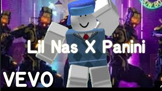 Lil Nas X - Panini ROBLOX || Fan Music Video {BlueRBLX} 100+ Subscribers Special