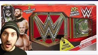 WWE Mattel Universal Championship... WITH SOUNDS!!!