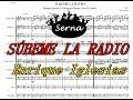 Subeme la radio Charanga - Partitura Arreglos musicales Serna