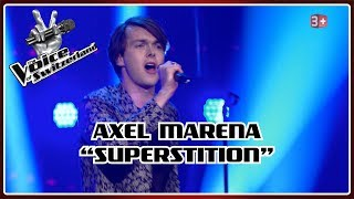 Axel Marena - Superstition | Blind Auditions | The Voice of Switzerland