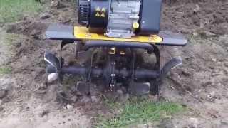 Glebogryzarka Texas TX 602 -  przekopywanie trawnika (ripper Texas TX 602)