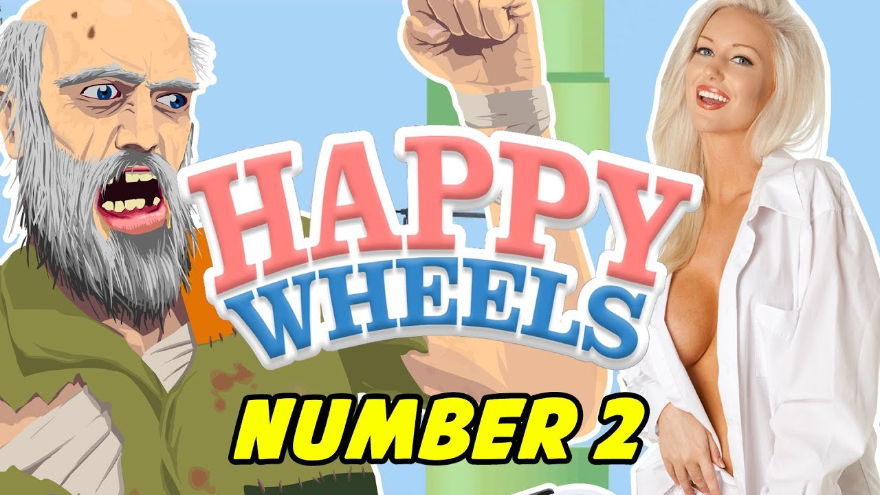 Happy Wheels 2 Flappy Bird Too Much Too Fast Youtube