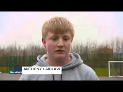 ITV Tyne Tees news features Sport Works and Traineeships