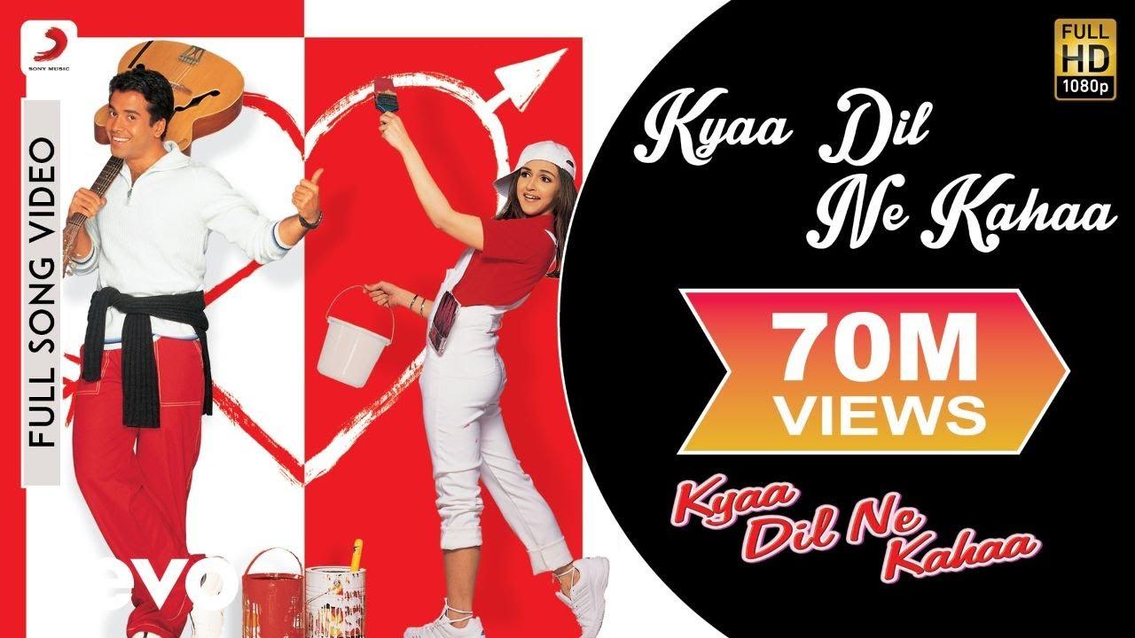 Download Kyaa Dil Ne Kahaa Full Video - Title Song|Tusshar Kapoor,Esha|Udit Narayan,Alka Yagnik