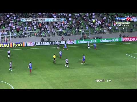 Ronaldinho vs Bahia - 2013 /08/14 - HD 720p - Roni Tv