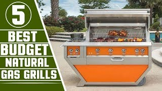 ✅ Natural Gas Grills: 5 Best Natural Gas Grills Review In 2019 | Small Gas Grills (Buying Guide)