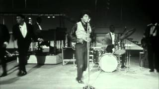 "James Brown performs and dances to ""Night Train"" to a live audience on TAMI Show."