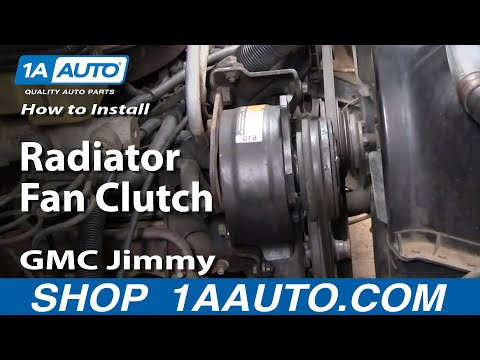 How To Replace Radiator Fan Clutch 73-91 GMC Jimmy | 1A Auto