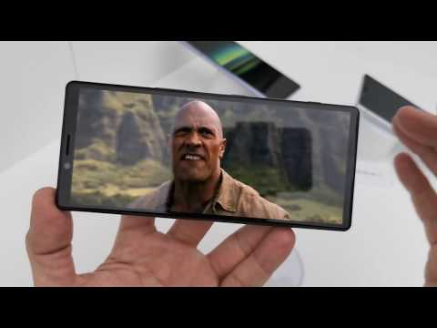 Sony Xperia 1 hands-on MWC 2019