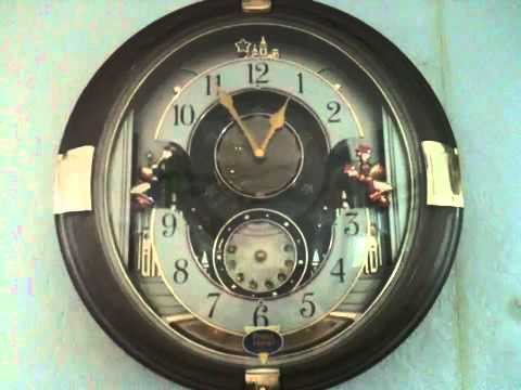 Beatles tunes clock