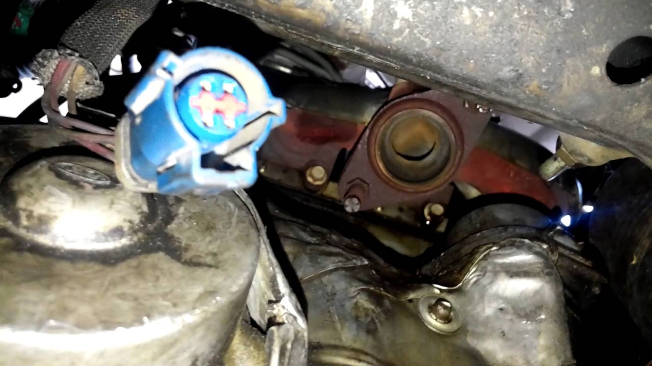1997 ford taurus catalytic converter removal [ 1280 x 720 Pixel ]