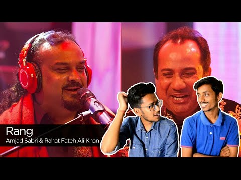 Indian Reacts To :-Rang, Rahat Fateh Ali Khan & Amjad Sabri, Season Finale, Coke Studio Season 9