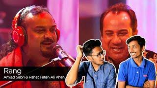 Indian Reacts To :-Rang, Rahat Fateh Ali Khan & Amjad Sabri, Season Finale, Coke Studio Season 9