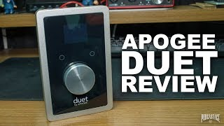 Today I review the Apogee Duet, a premium USB interface for Mac, iO...