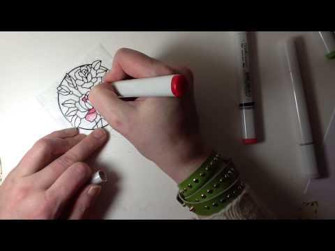 Elizabeth craft design microfine glitter youtube for Elizabeth craft microfine glitter