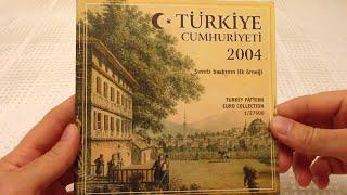 2004 Basım Türk Euro Para Seti