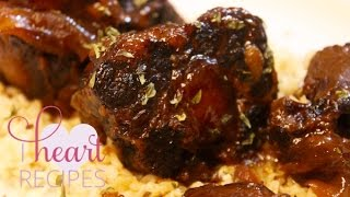 Barbecue Oxtails made in the Slow Cooker - I Heart Recipes