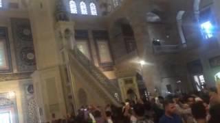 Adana Merkez Camii'nde canlı bomba paniği!