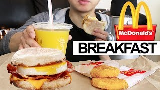 mcdonald's hash brown mukbang