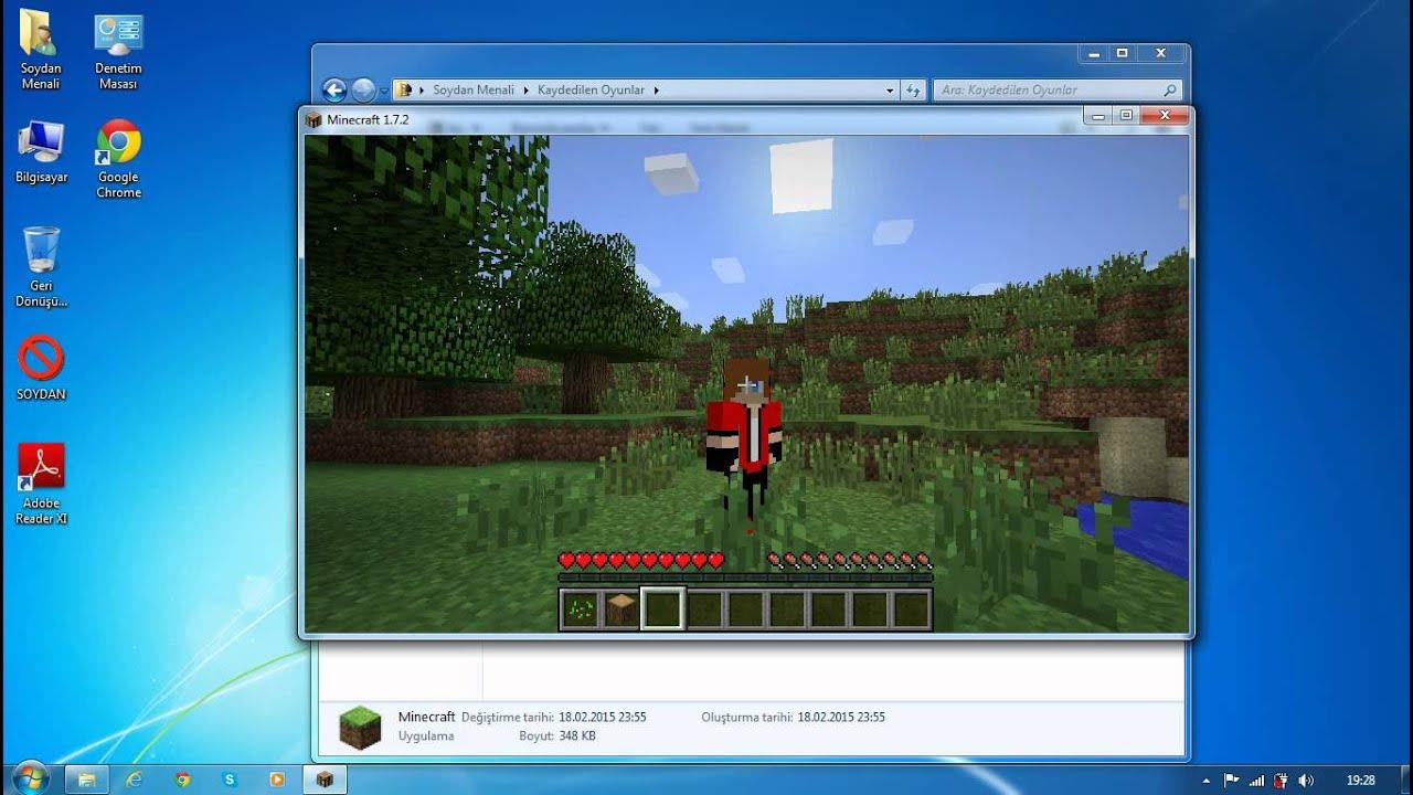 Minecraft Launcher Skin Değiştirme YouTube - Skin para minecraft launcher yofenix