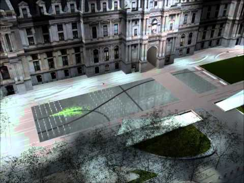 Proposed Art Installation in Philadelphia's Dilworth Plaza
