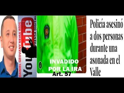 POLICÍA INVADIDO POR LA IRA EN EL NARANJAL