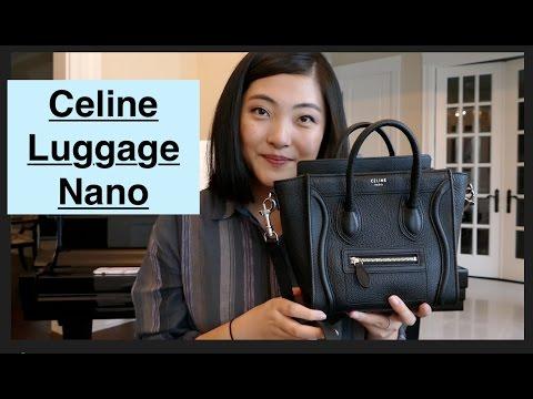 Celine Luggage Nano Review