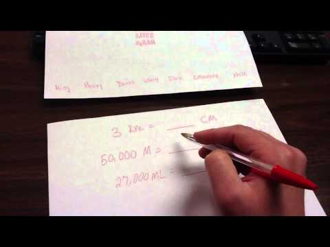 Metric Conversions Cheat Sheet