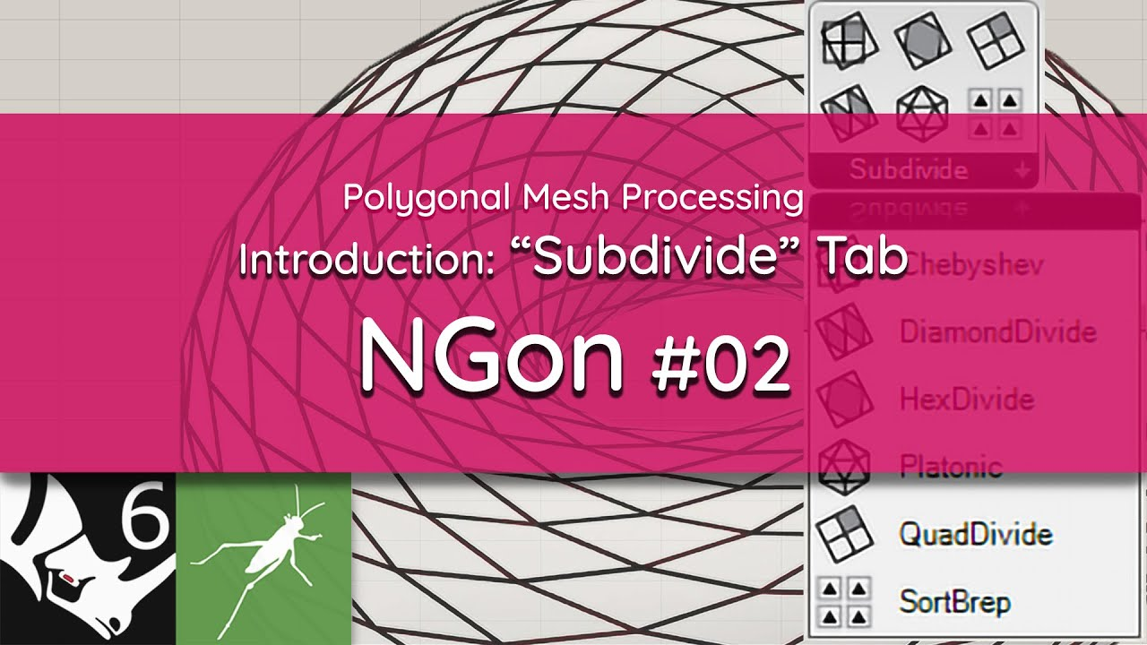 NGon Introduction  | #02 Subdivide Tab, Solving The Seam