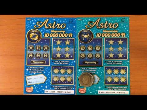 Astro Kaparós Sorsjegyek Lekaparása, Halak 066, Rák 070
