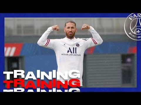 Sergio Ramos : Première journée d'entraînement