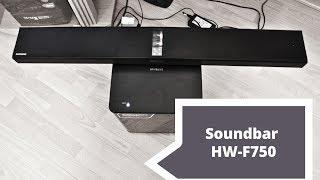 Samsung Soundbar HW-F750 Pierwsze wrażenia   Robert Nawrowski