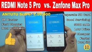 Redmi Note 5 pro vs ASUS Zenfone Max Pro M1