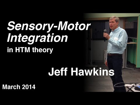 Sensory-motor Integration in HTM Theory, by Jeff Hawkins