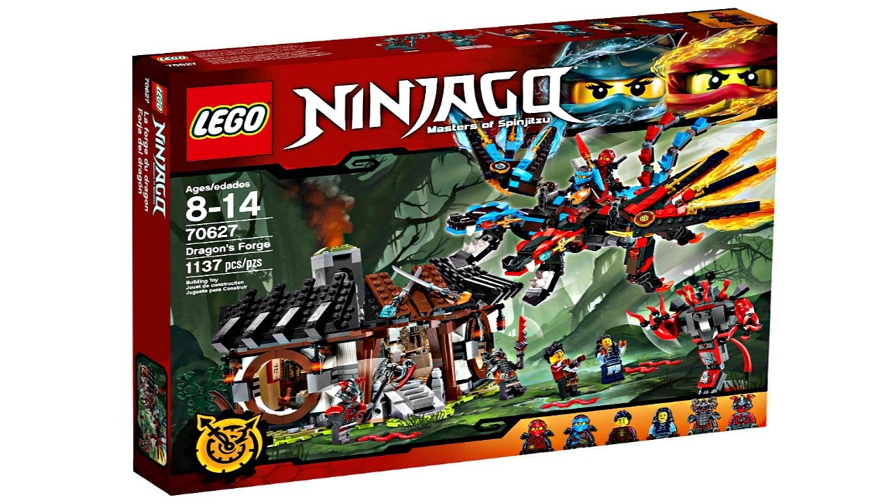 LEGO Ninjago 2017 sets pictures! - YouTube