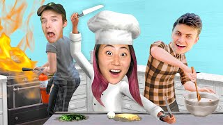 LAST TO STOP COOKING WINS $10,000!! (TEAM RAR SIMS EDITION)