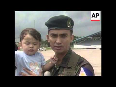 PHILIPPINES: TROOPS READY TO JOIN E.TIMOR PEACEKEEPERS