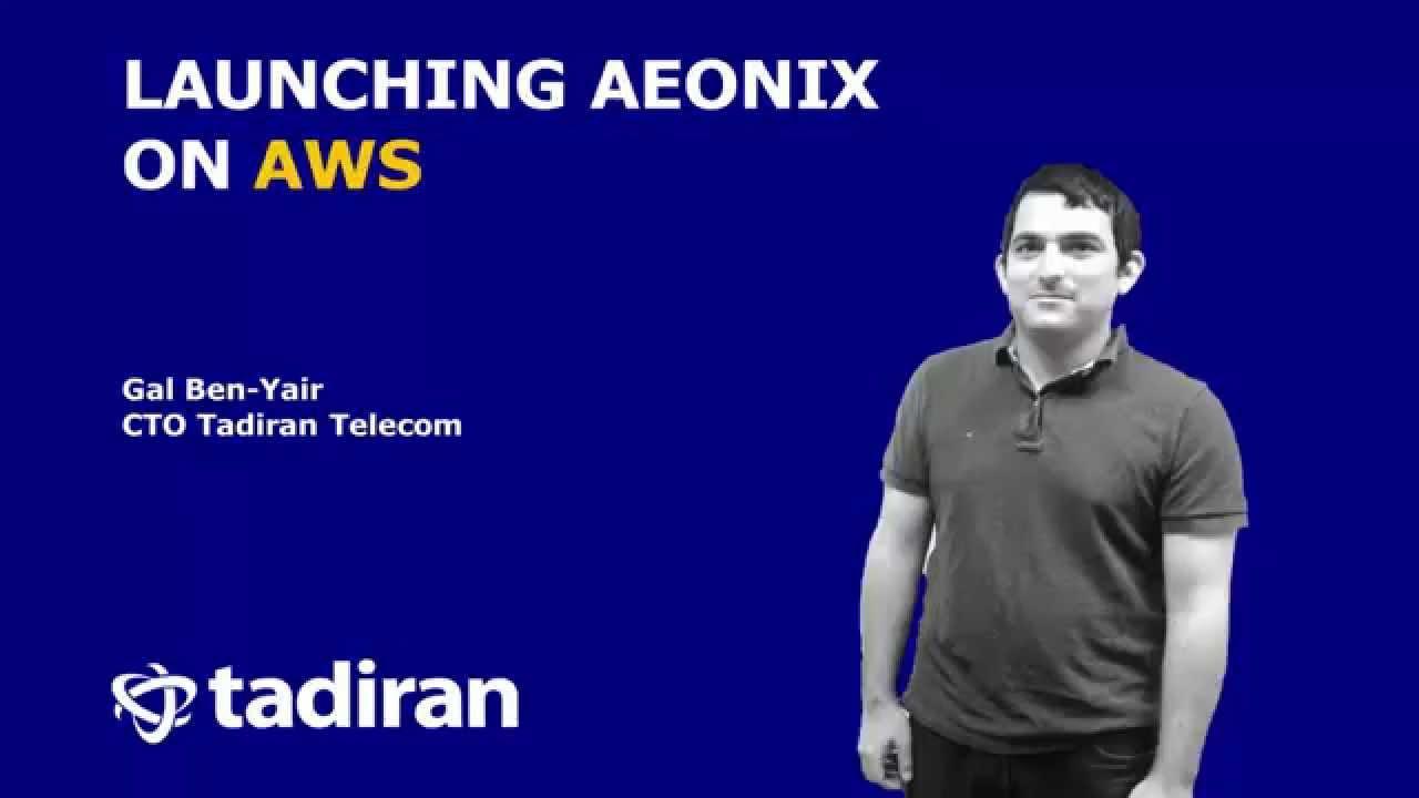 Aeonix on AWS | Tadiran Telecom