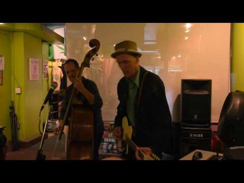 "Kevin Breit with Russ Boswell play  ""Levon Helm"" - Kensington Market Jazz Festival -"
